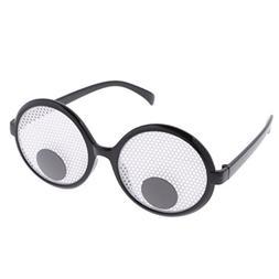 Dovewill Funny Googly Eyes Eye Glasses Joke Spectacles Comed