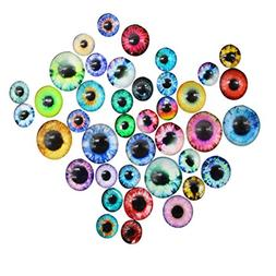 Icocol New 50PCS Funny Multicolor Moveable Eyes DIY 10/16/20