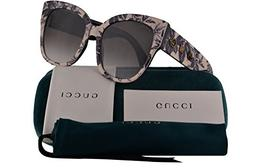 Gucci GG0059S Sunglasses Multicolor w/Grey Gradient Lens 55m