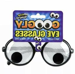 GOOGLY EYE NOVELTY GLASSES Kids or Adults Classic Costume Ac