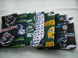 Handmade soft eyeglass case sport teams  NFL NHL NBL College