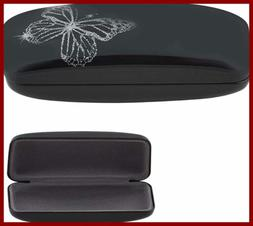 OptiPlix Hard Clamshell Glasses Case - Blue Durable Protecti