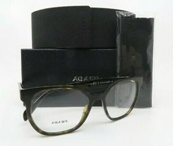 Prada Havana Brown Women Rx. Glasses, New with Box VPR 02U 2