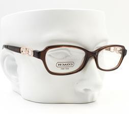 COACH HC 6017 5059 Vanessa Eyeglasses Glasses Crystal Brown