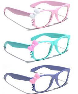 Hello Kitty Women Ladies Sunglasses Clear Lens Non Prescript
