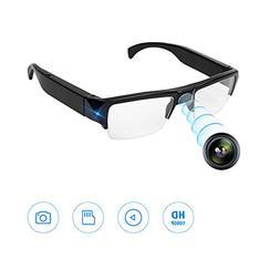 HD 1080P Hidden Spy Camera Glasses Recording Glasses Wearabl