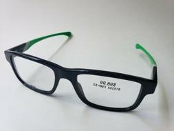 OAKLEY Junkyard OX1074-0253 Black/Green Frame RX Lenses Pres