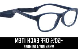 Kids Glasses Frame Eyewear Strap Bendable Boys Girls Eyeglas