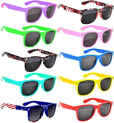 10 pairs kids polarized smoke lens sunglasses