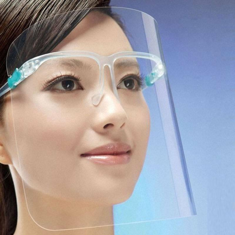 2/3/5 Clear Face Shields Mask Glasses Protection Plastic