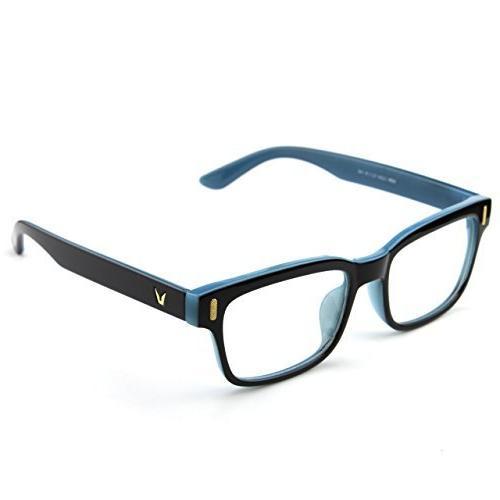 Glasses 201584 Modern Fashion Bold Frame Clear Lens Glasses