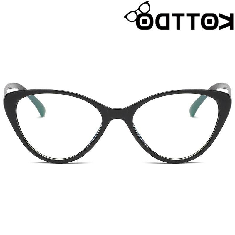 KOTTDO Vintage Cat <font><b>Eye</b></font> <font><b>Glasses</b></font> Eyeglasses Women Optical <font><b>Glasses</b></font> Eyewear UV400