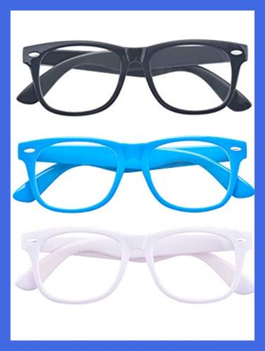 Outray 3 Children Retro Clear Lens 10