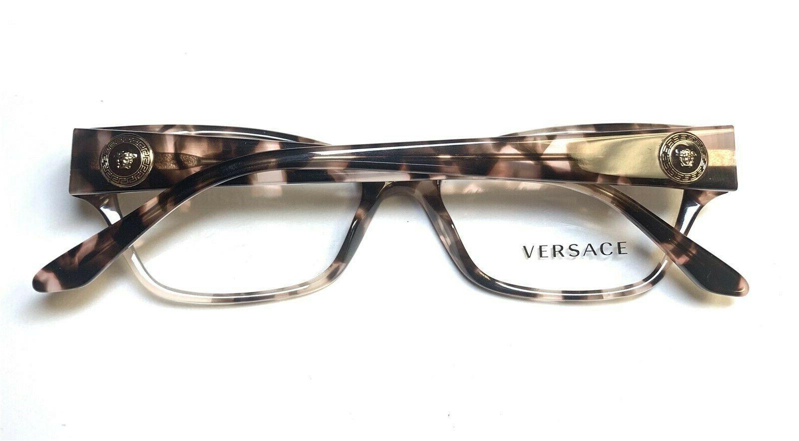Versace Frames Pink Brown 52-16-135