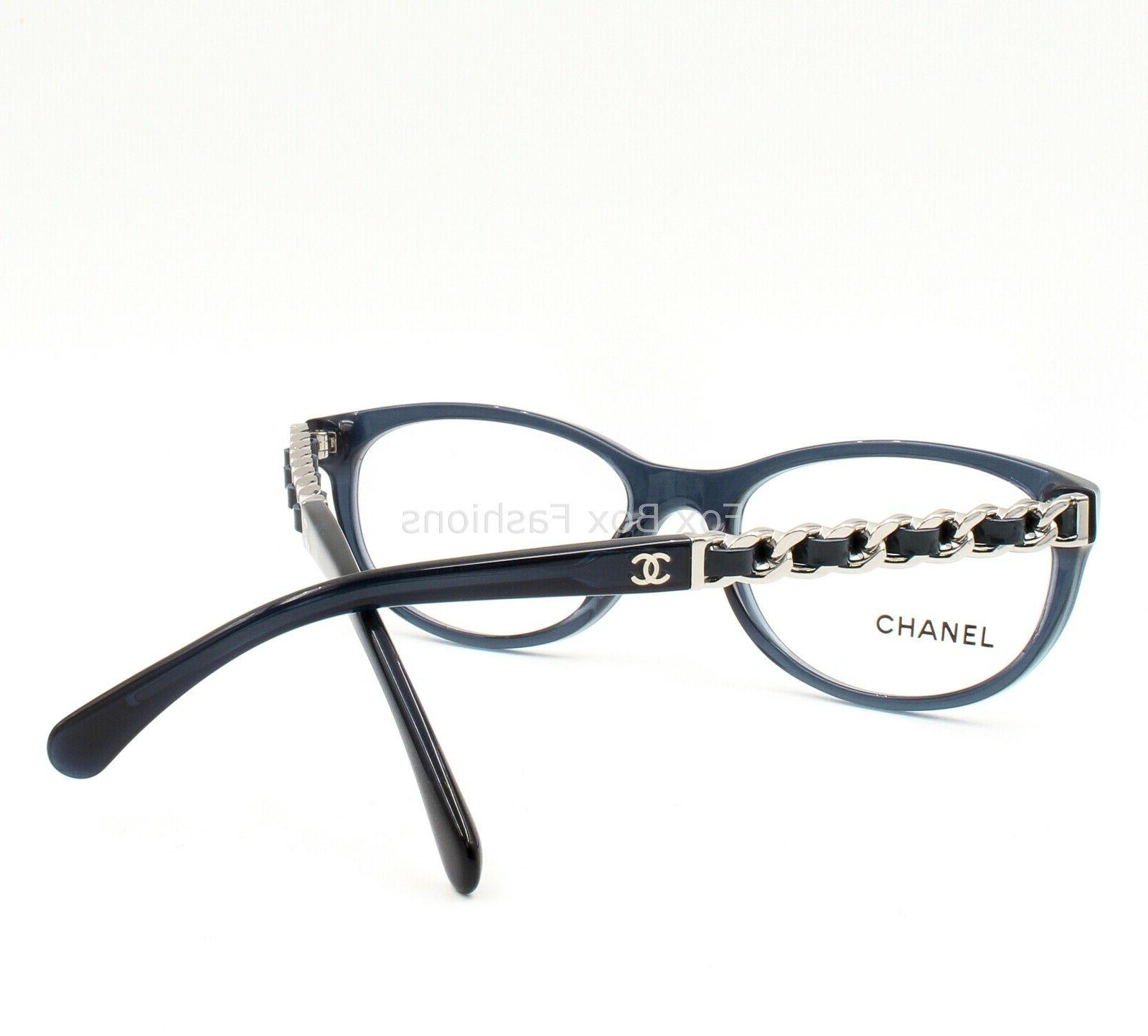 CHANEL 1390 Frame Glasses & Silver Logo