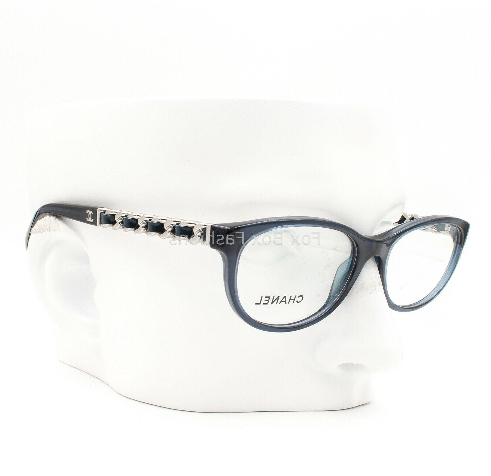 3268q 1390 eyeglasses frame glasses crystal blue