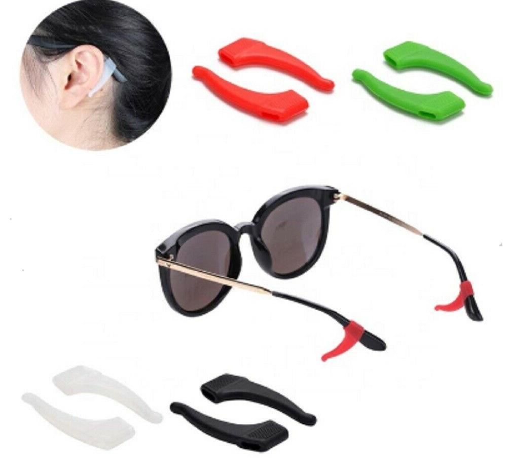 4 pair anti slip glasses ear hooks