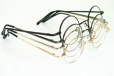 42mm vintage small round eyeglass frame glasses