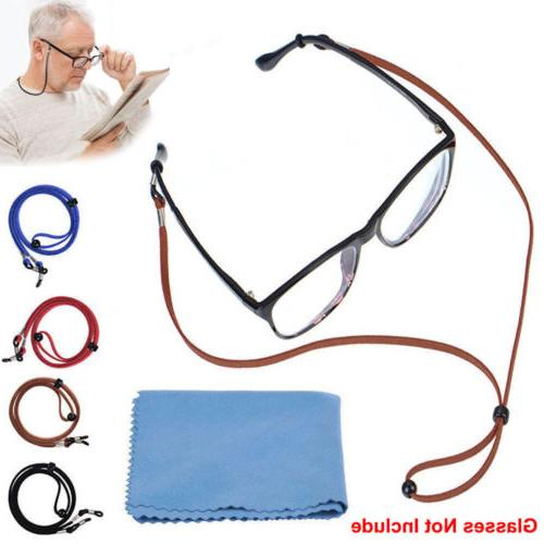 4Pcs Glasses Strap Neck Cord Sports Eyeglasses U Sunglasses
