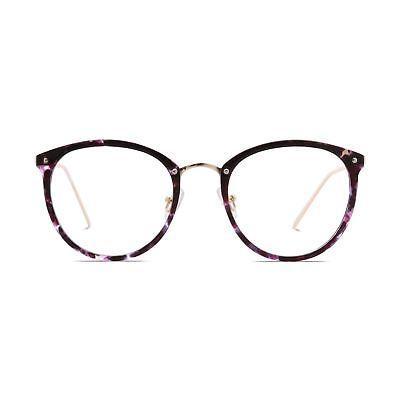Amomoma Fashion Round Eyewear Frame Eyeglasses Optical Frame