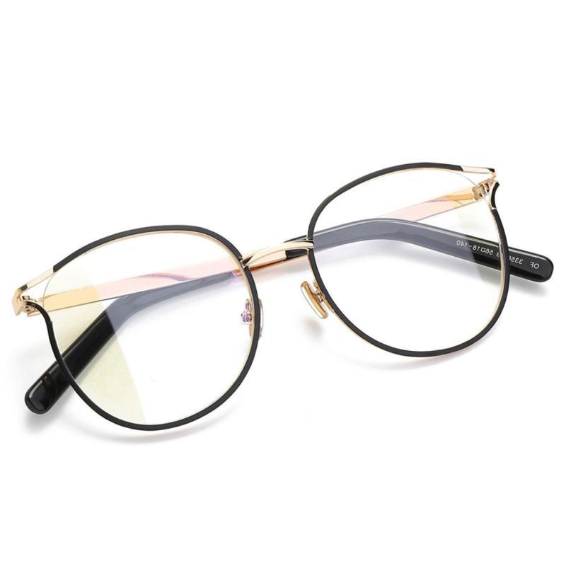 Amomoma Round Eyeglasses Optical Clear Glasses