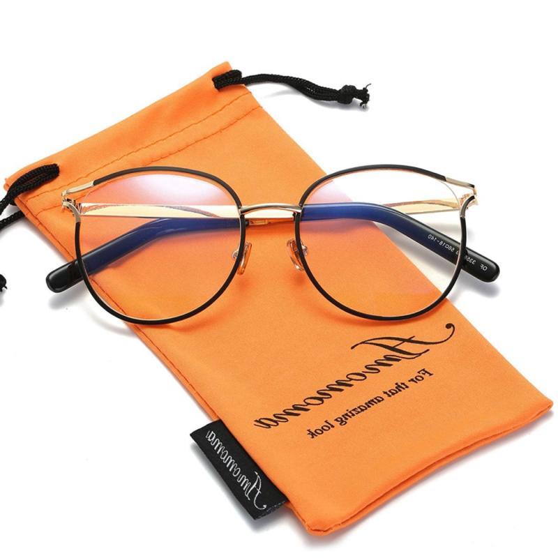 Amomoma Women Eyeglasses Optical Clear