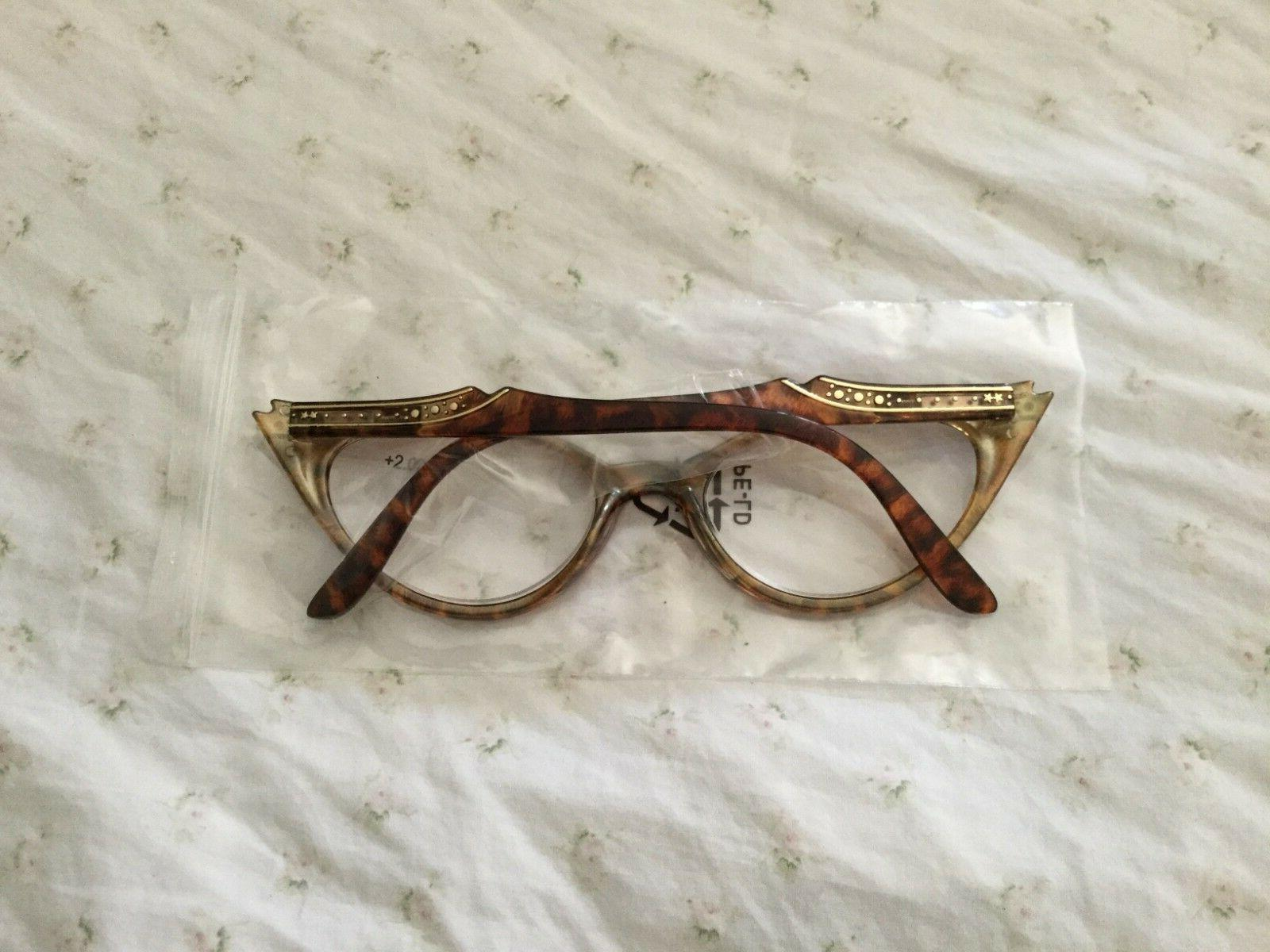 "Gamma Optics Reading glasses eye"" style shell"