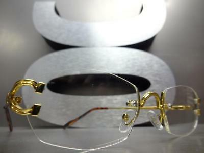 Style Clear GLASSES Rimless