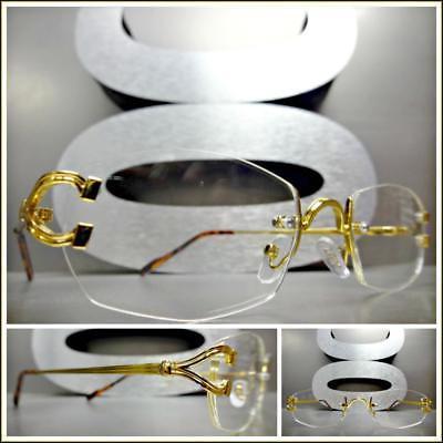 Men Classy Elegant Sophisticated Style Clear Lens EYE GLASSE