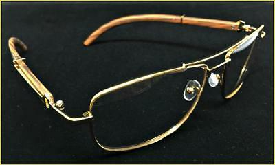 Men's Elegant Retro Style Clear EYE GLASSES Wood Frame