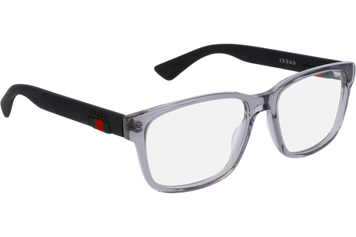 NEW Grey Matte Black Rubber Eye Glasses 0011O