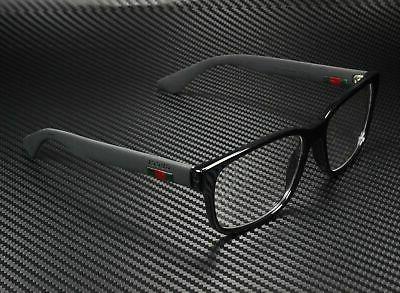 NEW Gucci Urban GG 0011O Eyeglasses 005 Black 100% AUTHENTIC
