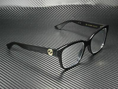 NEW Gucci Urban GG 0038O Eyeglasses 001 Black 100% AUTHENTIC