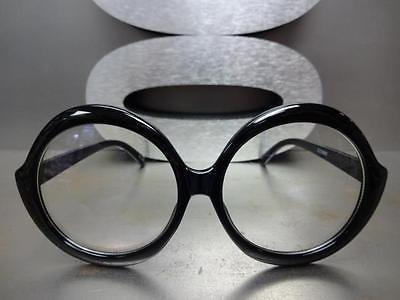 OVERSIZE RETRO Clear Lens Huge Large Frame