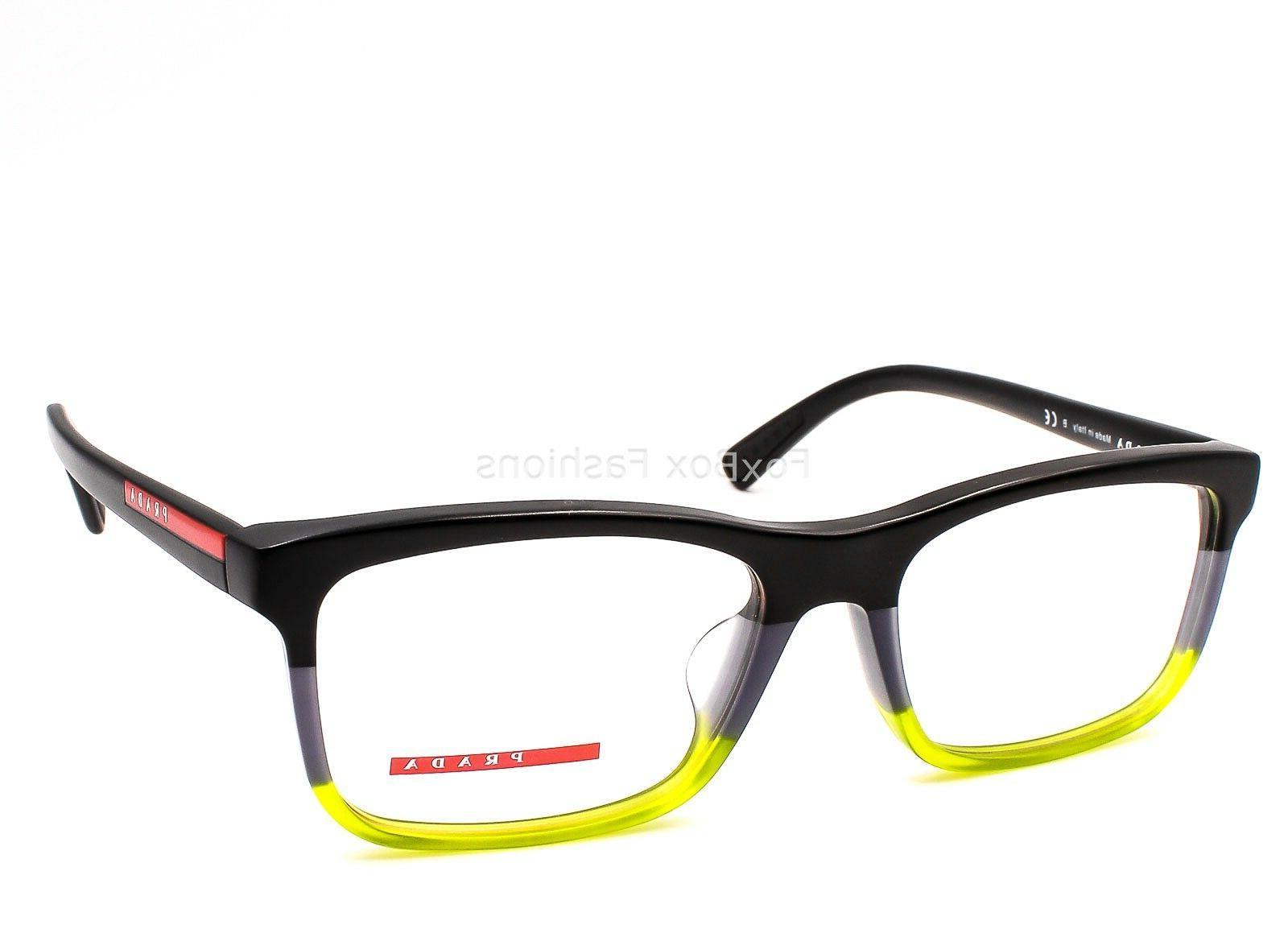 PRADA SPORT 05F F TWU 1O1 Eyeglasses Glasses Black ~ Gray ~