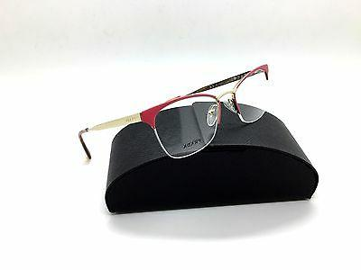 Prada Pink Eyeglasses VPR 65Q PDN 1O1 51 mm Havana Gold Ital