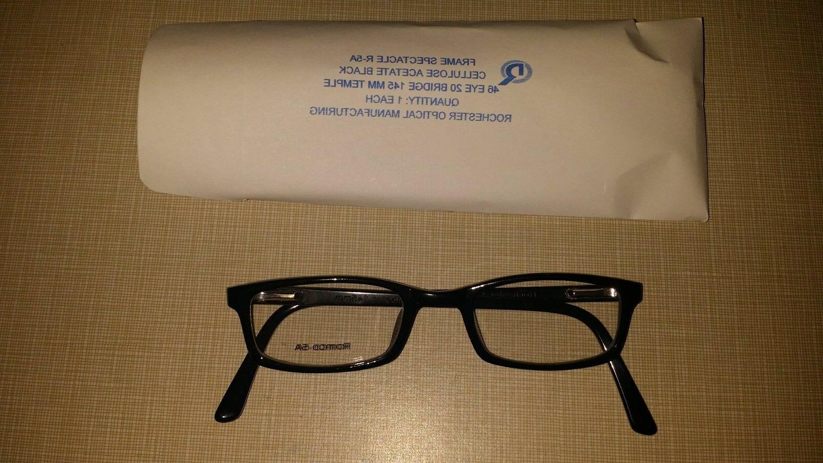 ROCHESTER OPTICAL R-5A FRAME SPECTACLE EYE GLASSES SIZE 46-2