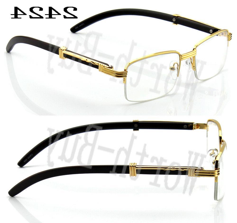 Womens Retro Clear Frame Glasses