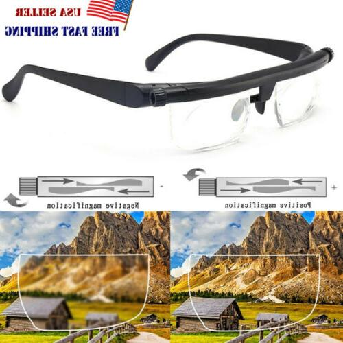 adjustable glasses variable focus vision distance reading
