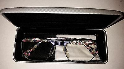 ALAIN MIKLI M0C5 Blue Check Eyeglasses Frame Glasses