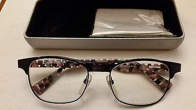 ALAIN Blue Check Eyeglasses