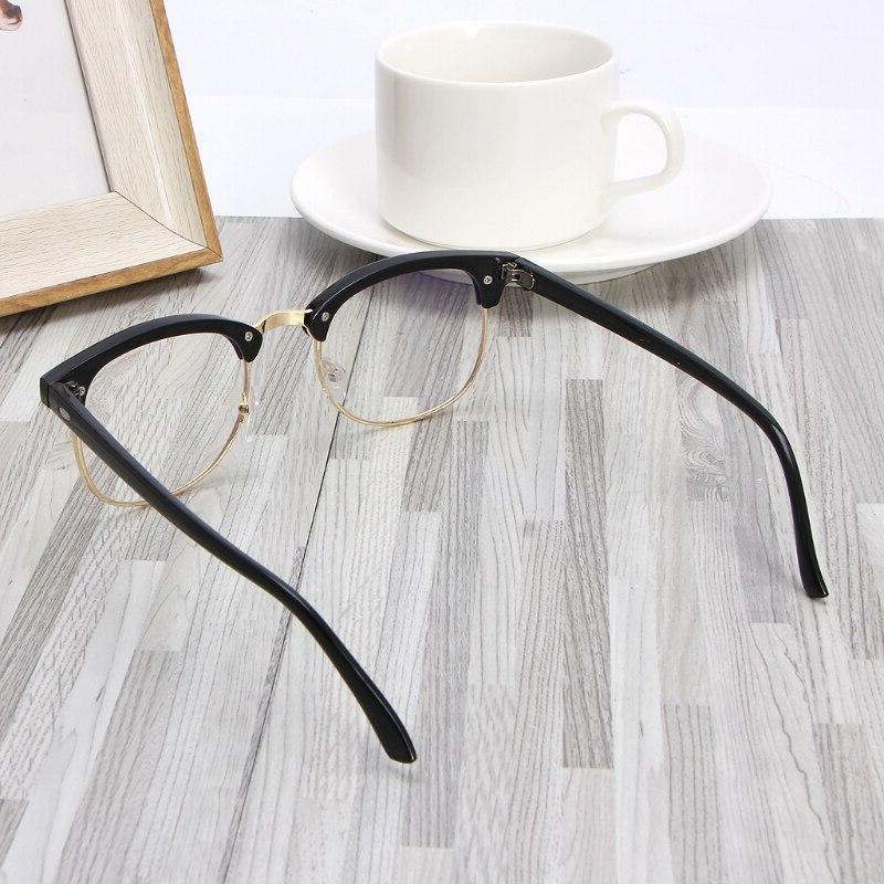 Anti-Glare Computer Digital Protection Eyeglasses Gold Silver Unisex