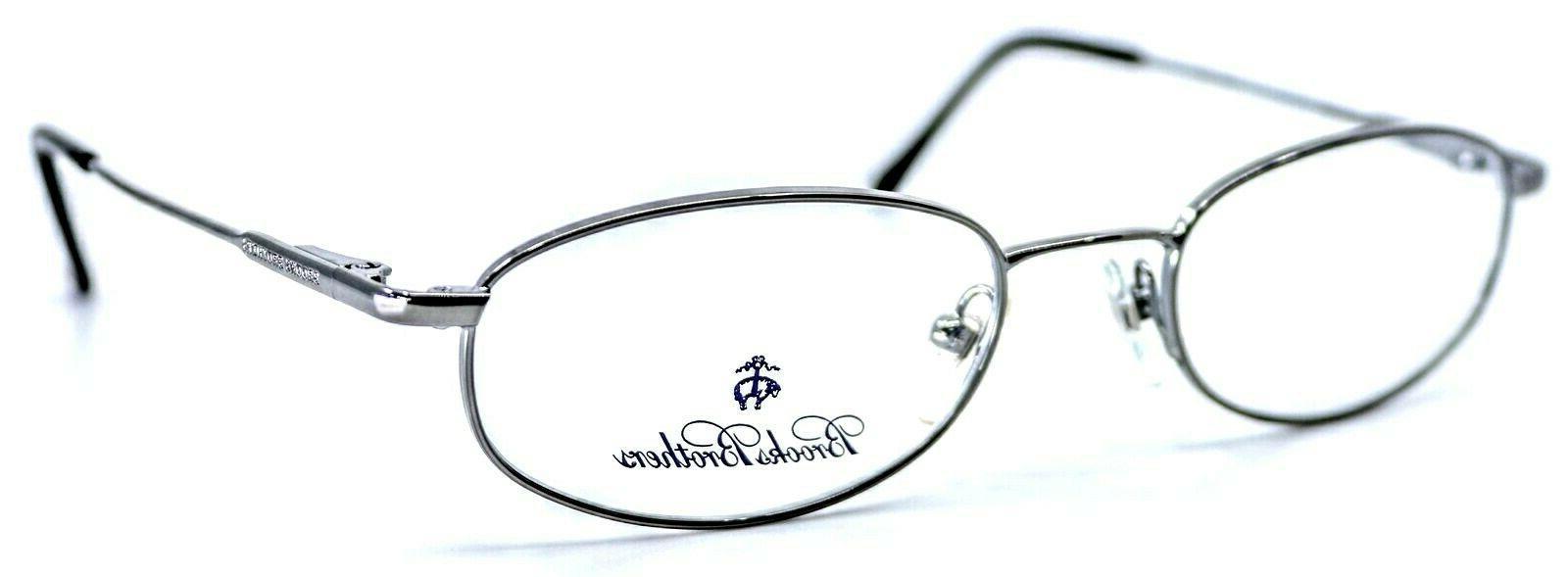 bb491 1150 gunmetal oval eyeglass frames 49