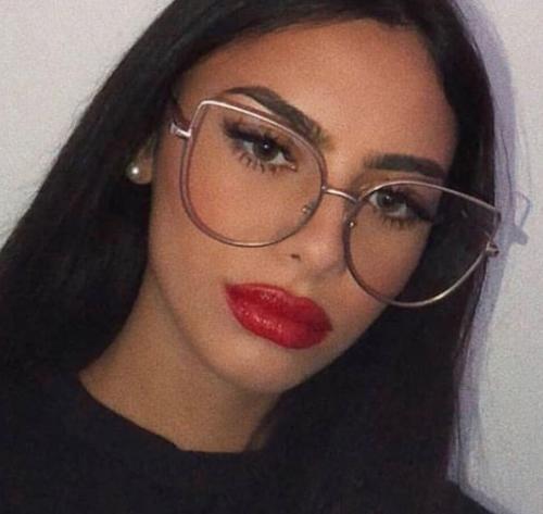BELINDA Women EYE Glasses Oversized GAFAS