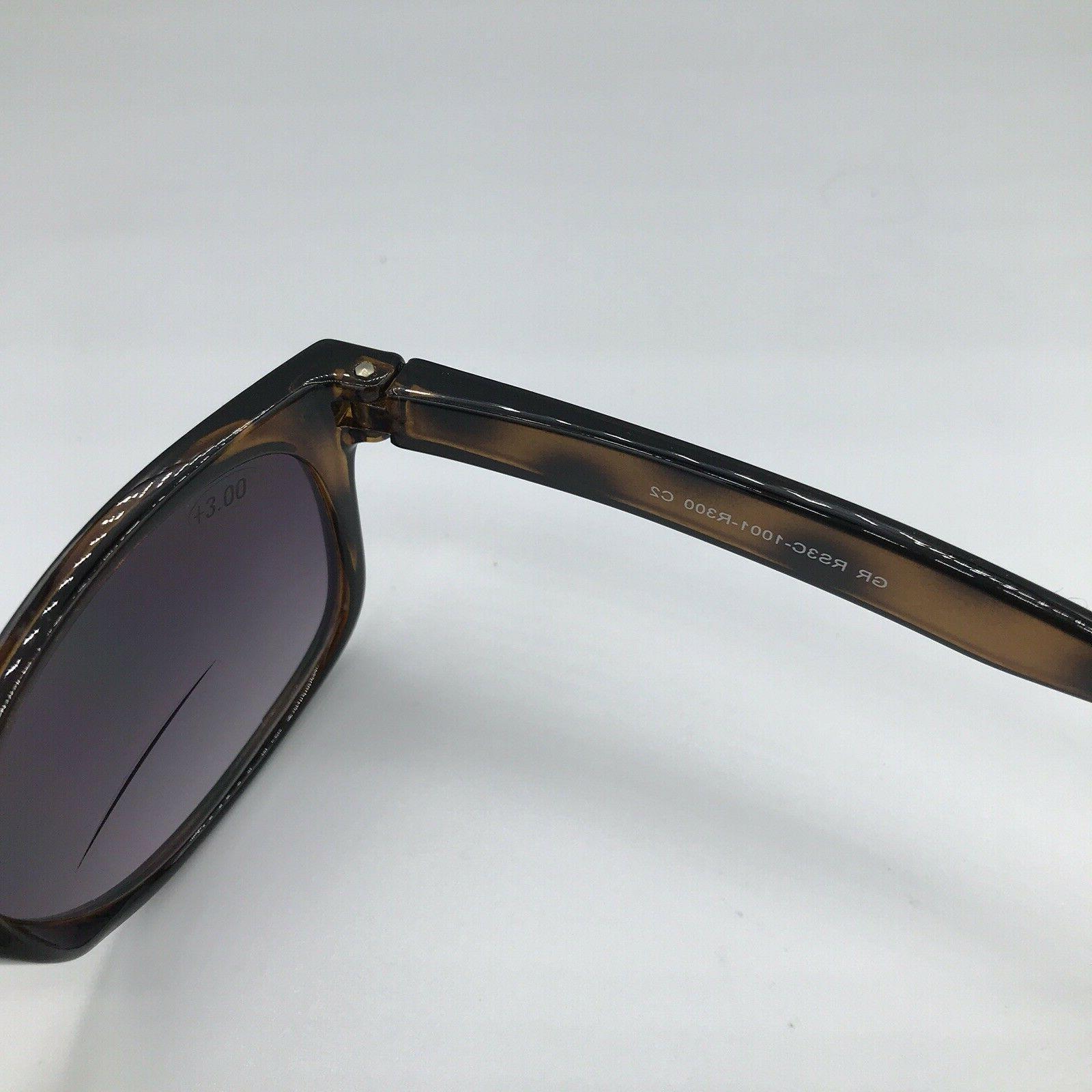 Gamma Optics Sunglasses Brown Outdoor Reading Glasses