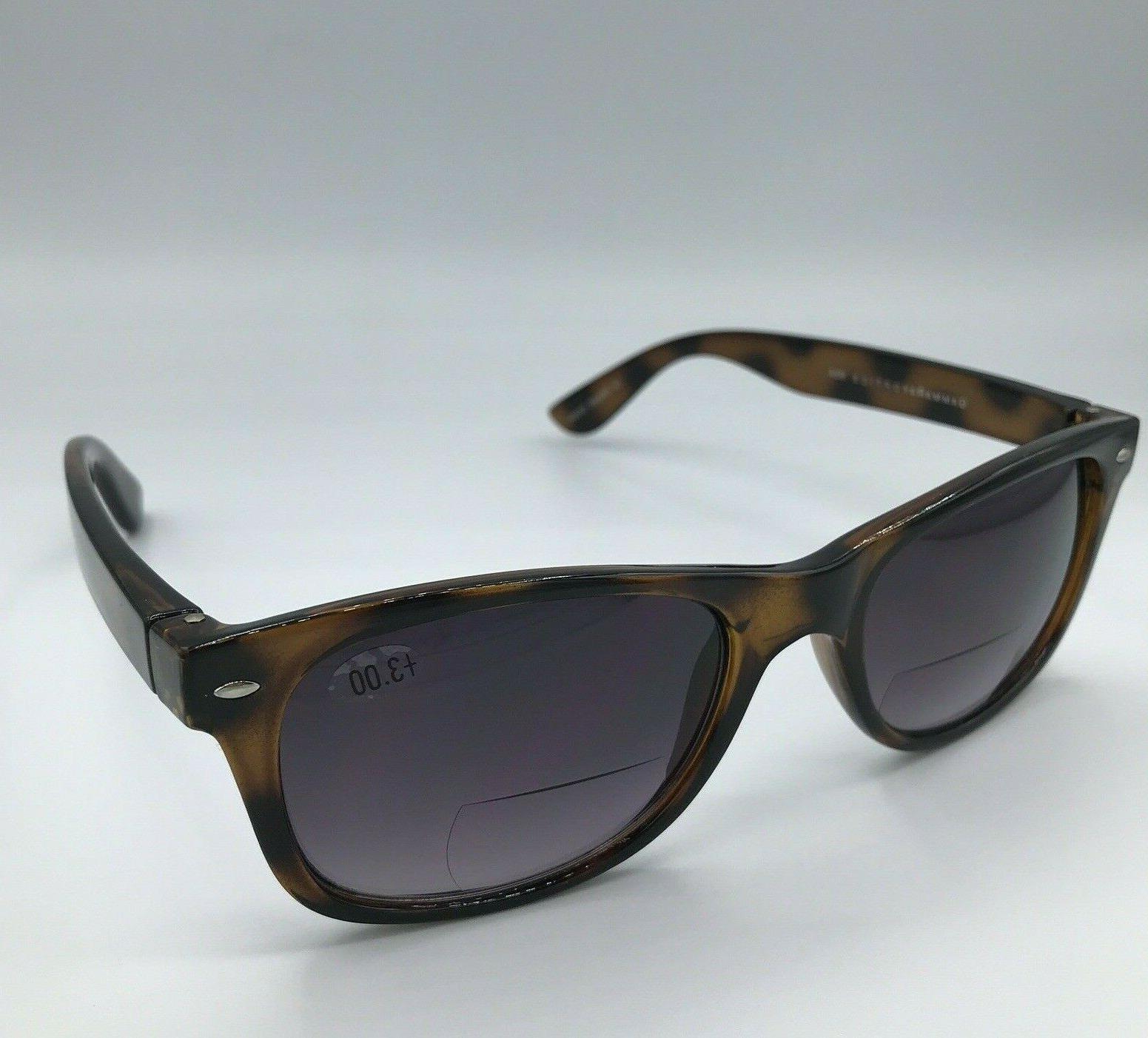 bifocal sunglasses brown tortoise shell outdoor reading