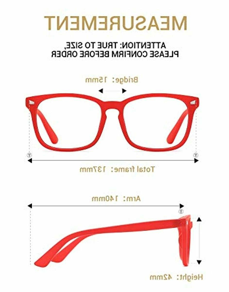 TIJN Light Blocking Glasses Anti Blue Video Game Help