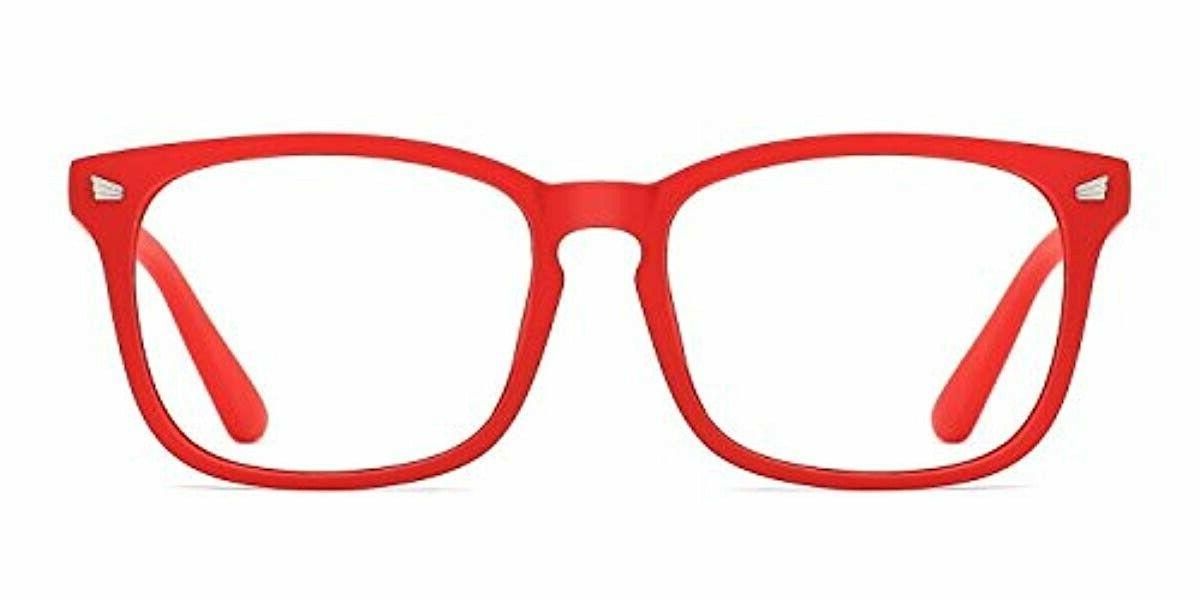 blue light blocking glasses nerd eyeglasses anti