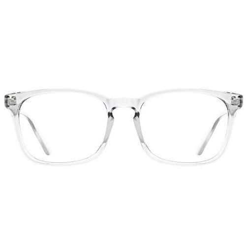 blue light blocking glasses square nerd eyeglasses