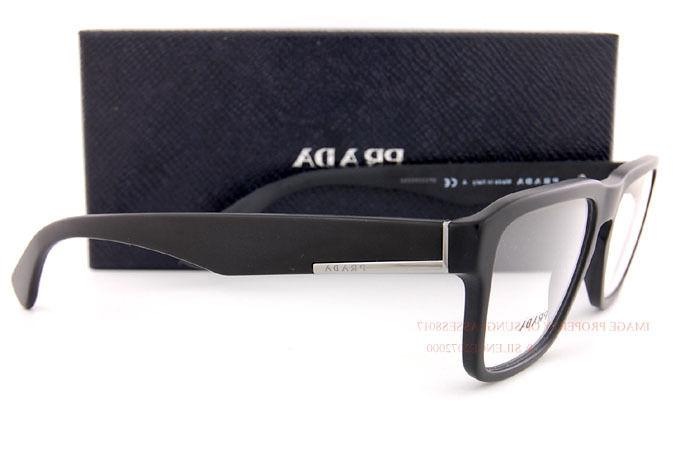 Brand Prada Eyeglass Frames 04SV Matte Men SZ 53